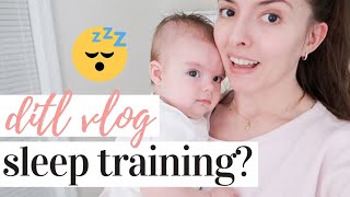 THE 4 MONTH SLEEP REGRESSION IS HERE | DAY IN THE LIFE WITH A NEWBORN AND A TODDLER 2020
