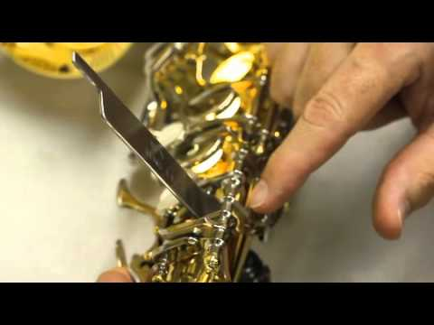 Sax Key Adjusting Lever