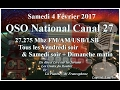 Samedi 04 Février 2017 QSO National du canal 27