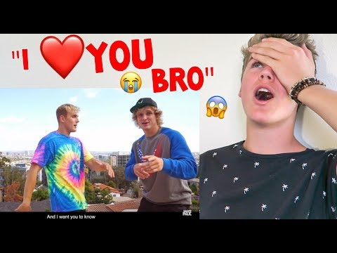 Jake Paul - I Love You Bro (Song) feat. Logan Paul (Official Music Video) *REACTION*