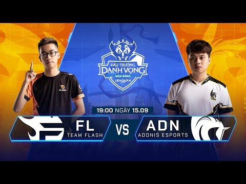 Team Flash vs Adonis Esports | FL vs ADN [Vòng 12 - 16.09] - ĐTDV Mùa Đông 2019