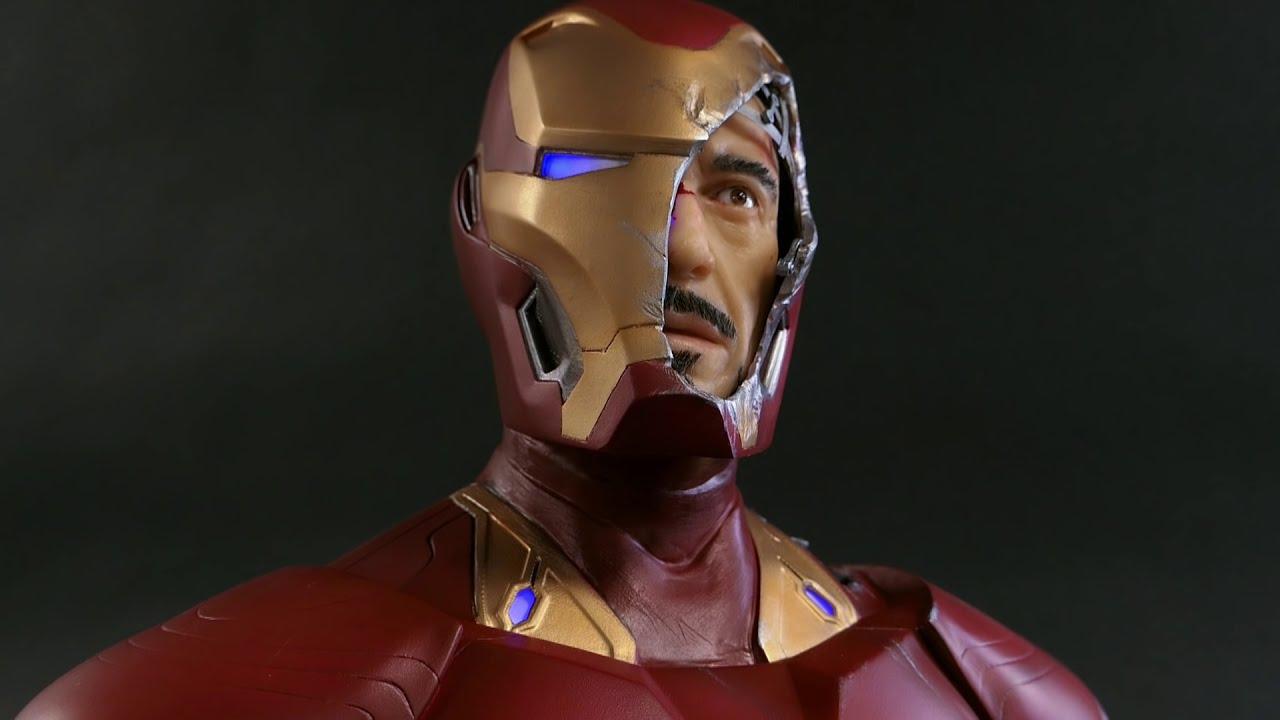 sculpture timelapse iron man avengers by steven richter