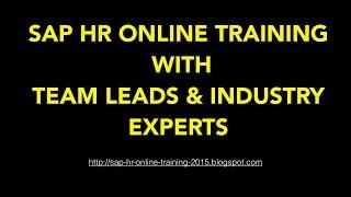 SAP HR Tutorial For Beginners | SAP HR / HCM Online Training | SAP HR/HCM Overview