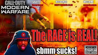 MODERN WARFARE | The RAGE is REAL!!! 😈 Trying to Survive DOUBLE XP Weekend and SBMM...