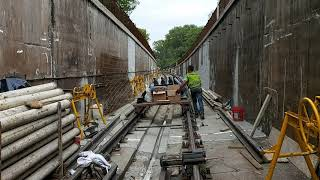 M3 metrófelújítás - Déli szakasz (2020.08.10.)