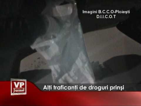 Alti traficanti de droguri prinsi