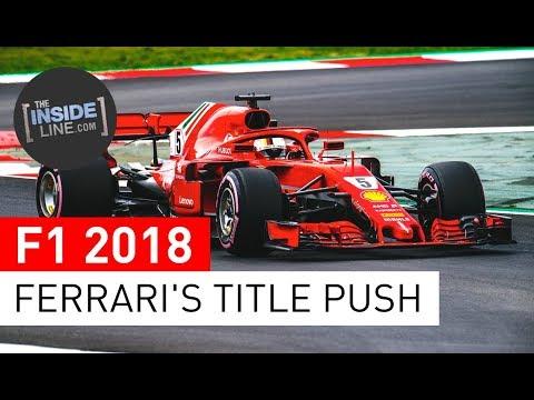 F1 NEWS 2018 – SCUDERIA FERRARI: TITLE FIGHT REMATCH [THE INSIDE LINE TV SHOW]
