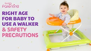 When Your Baby Can Start Using a Walker (Plus Precautions while Using)