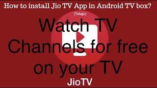 jiotv app for android tv - TH-Clip