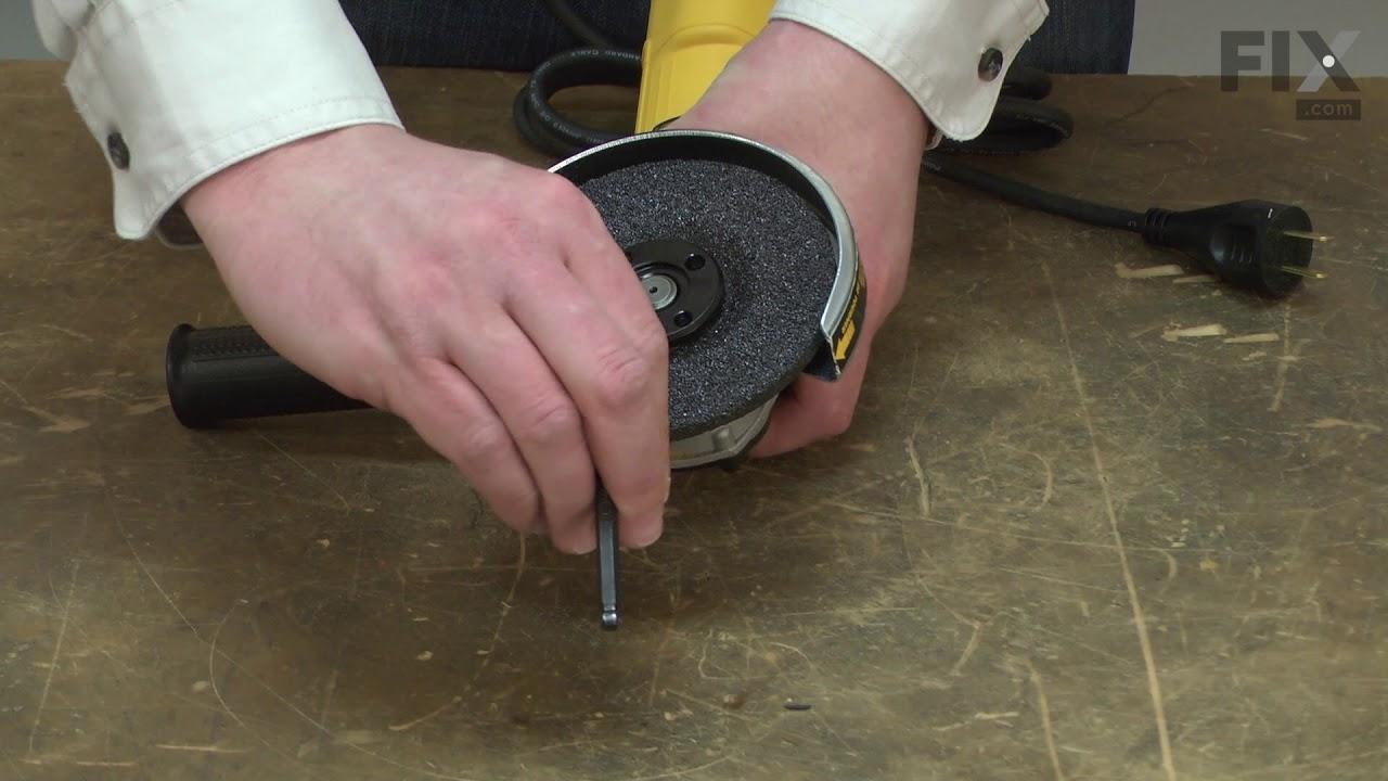 Replacing your DeWALT Lawn & Garden Hex Hole Flange