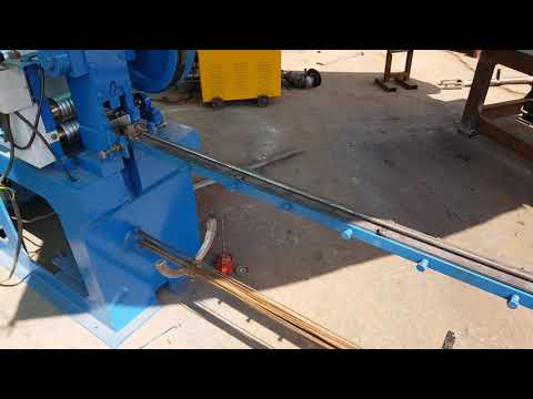 Medium Wire Straightening With Cutting Machine