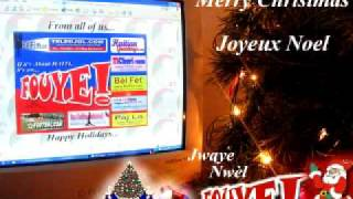 Haiti Noel Music - Joyeux Noel, Merry Christmas, Feliz Navidad