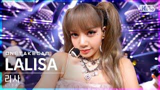 [단독샷캠] 리사 'LALISA' 단독샷 별도녹화│LISA ONE TAKE STAGE│@SBS Inkigayo_2021.09.26.