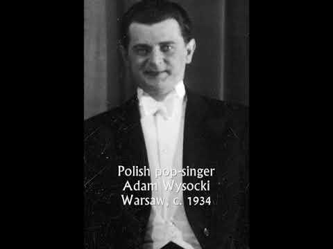 Old Polish tango: Adam Wysocki & Ork. Odeon - Wspomnienia, 1934