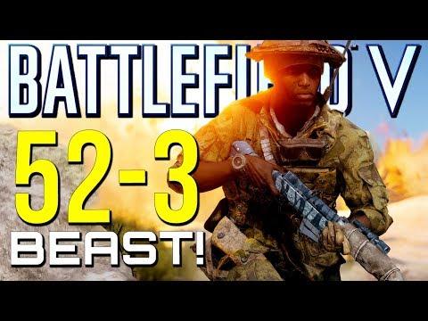 Battlefield 5: 52-3 Insane Game! (Battlefield V Multiplayer Gameplay)