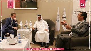 د. بني رشيد يستقبل رئيس اللجنة البارالمبية الدولية في عمّان