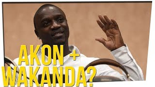 "Akon Wants To Create A Real Life ""Wakanda"" Ft. DavidSoComedy"