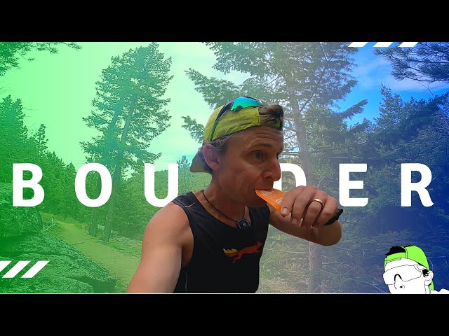Boulder Skyline Traverse FKT | Left or Right? | Hoka EVO Speedgoat Update