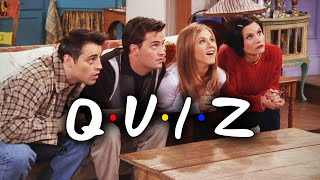The One With The Ultimate Friends Quiz