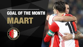 Goal of the Month | Maart