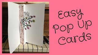 Pop Up Card Tutorial feat. my Mum