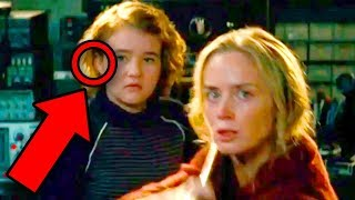 A QUIET PLACE - Ending Explained! (Monsters & Final Scene Analysis) - Video Youtube