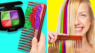32 BRIGHT HAIR HACKS TO TRY AT HOME