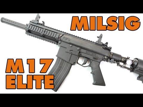 Milsig M17 Elite Defcon Paintball Gear Cestentendu