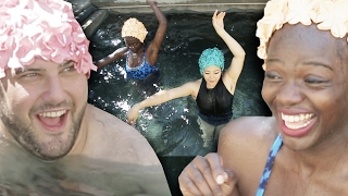 People Try Synchronized Swimming