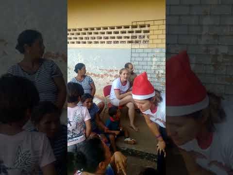 Amo e caridade dia 17-12-2017 no povoado Ginipapo em Aquidabã entrega de brinquedos e outras coisas