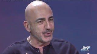 Serhat (representative of San Marino at Eurovision 2016) introduced on SMTV news