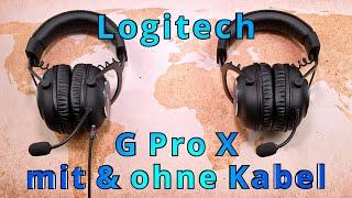 Logitech G Pro X Wireless Review (inkl. Vergleich zum Kabelgebundenen)
