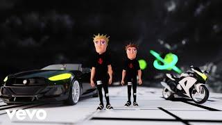twocolors - Lovefool (Love Me, Love Me - Space Racing Video)