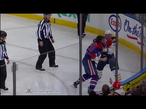Luke Gazdic vs. Zenon Konopka