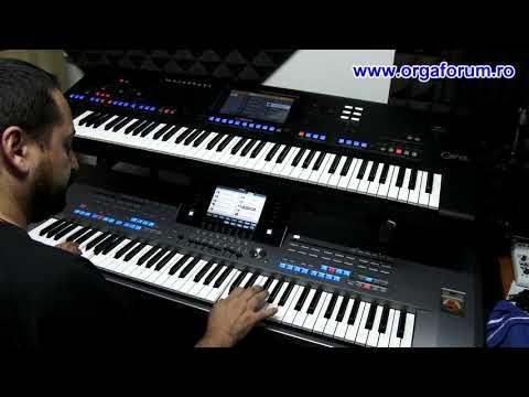 Download Yamaha Genos Vs Tyros 5 Video 3GP Mp4 FLV HD Mp3 Download