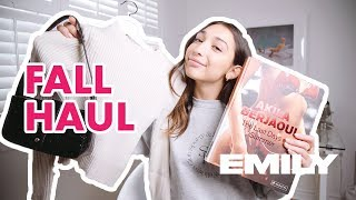 FALL TRY-ON HAUL🍂🧡| Sporty & Rich, Brandy Melville...