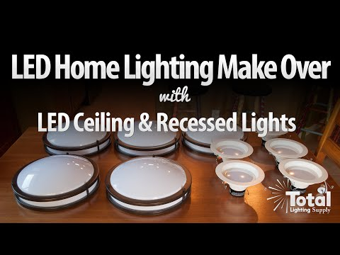 LED Home Lighting Make Over
