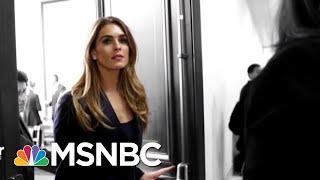 Former Trump WH Communications Director Hope Hicks Testifies To Congress | The 11th Hour | MSNBC