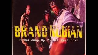 Brand Nubian - Punks Jump Up To Get Beat Down (clean)
