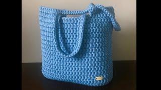 Crochet Tote Bag - Beginner Friendly