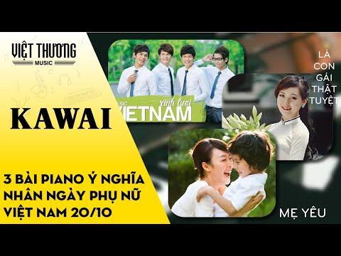 Top 3 bài piano ý nghĩa nhân ngày Phụ Nữ Việt Nam 20/10