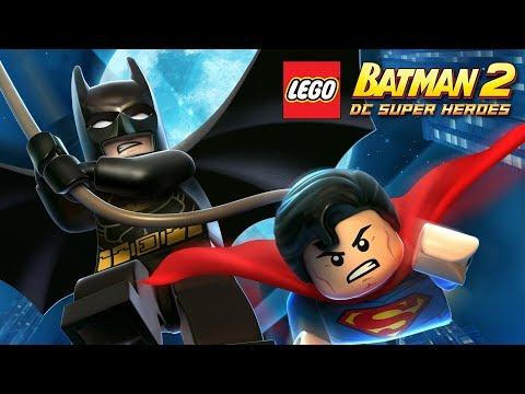 Lego Batman 2 DC Super Heroes - FULL GAME Walkthrough Gameplay No Commentary