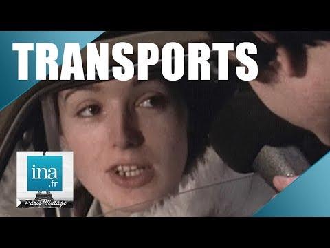 1974 : La galère des transports en banlieue parisienne   Archive INA