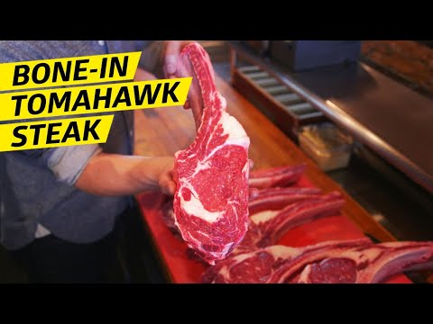 Why the Bone-In Tomahawk Is the Best Cut of Steak — Prime Time