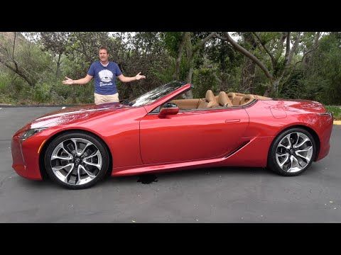 The 2021 Lexus LC500 Convertible Is the Coolest Car Nobody Will Buy