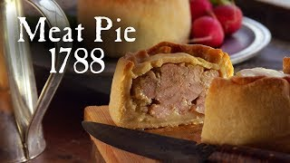 Standing Crust Meat Pie - 18th Century Cooking With Jas. Townsend And Son S3E8