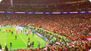 preview picture of video 'FC Bayern München BVB Dortmund Finale CL Champions League Stern des Südens Wembley London 25.05.2013'