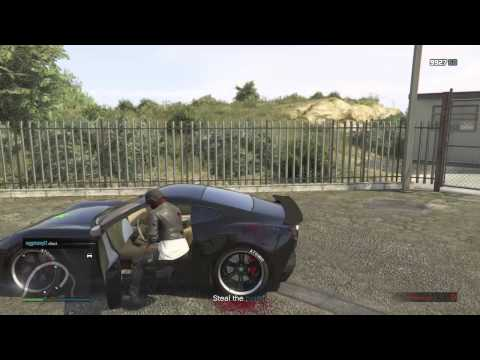 GTA V: Throwing Cars Off Of Cliffs Ends In Failure.