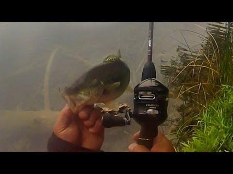 Zebco Omega Pro Z03 Bass fishing