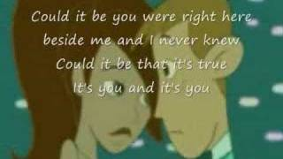 Kim possible..Could it be lyrics (Christy Carlson Romano)